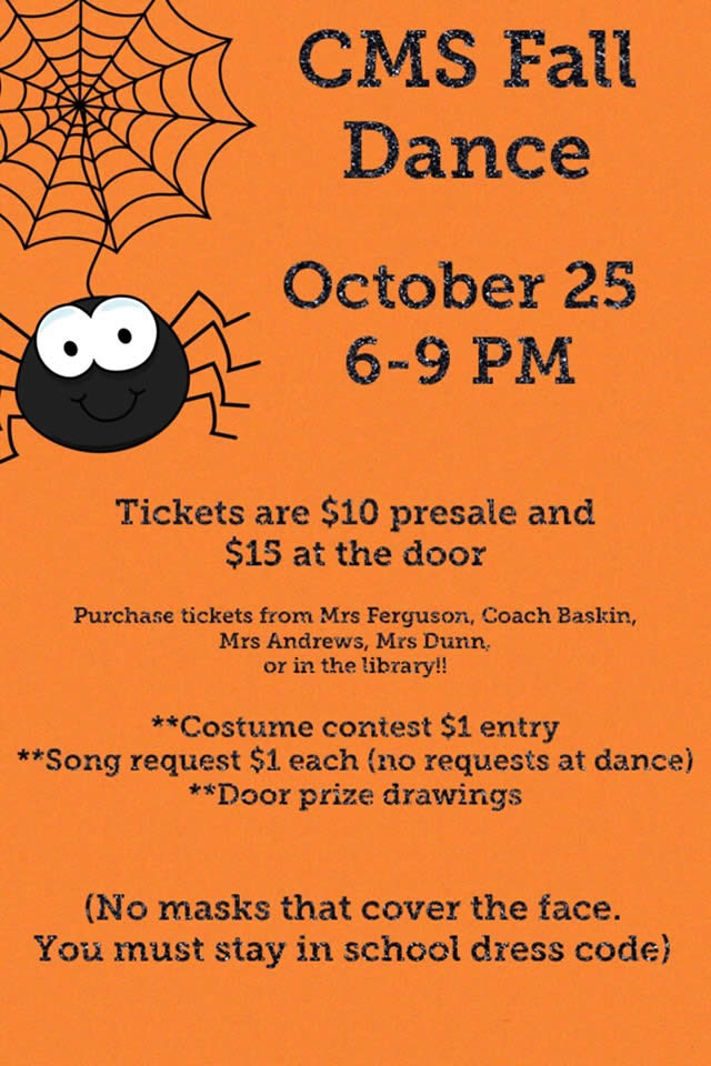 Center Middle School Fall Dance | Shelby County Today