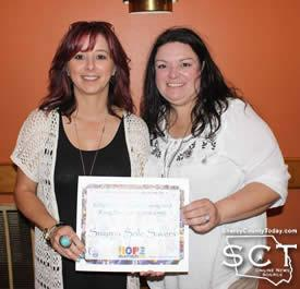 From left: Symrna Sole Savers (Stacy O'Rear and Sandy Runnels)