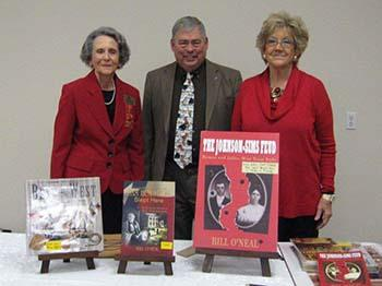 President Fannie Watson, Dr. O'Neal, and 1st Vice President Melba Pahal