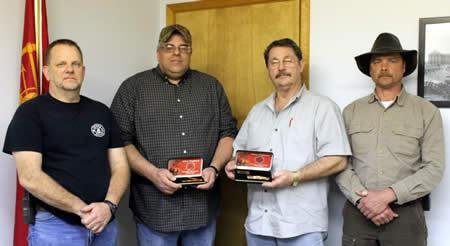 From Left: Rodney Mathews, John Holt, Michael Lee, and Waylon Griffith