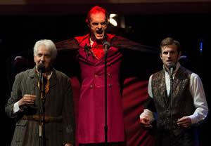 """Cutline: L.A. Theatre Works will present a live radio theater performance of Bram Stokers' """"Dracula"""" at 7:30 p.m. Thursday, Feb. 4, in W.M. Turner Auditorium on the SFA campus as part of the College of Fine Arts' University Series. Photo by Matt Petit."""
