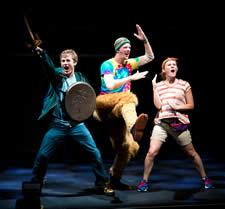 """""""The Lightning Thief,"""" presented by Theatreworks USA, is returning as part of the 2015-2016 season of the Children's Performing Arts Series of the SFA College of Fine Arts. The show will be presented at 9:30 a.m. and 12:30 p.m. Friday, Feb. 5, in Turner Auditorium on the SFA campus."""