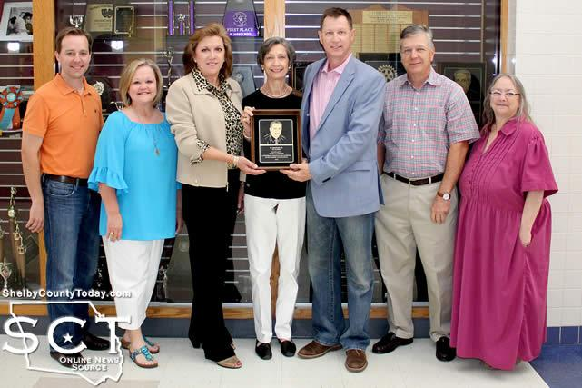 Pictured are (from left) Terry Scull, Becky Jeans, RSF trustee; Deb Poquette, Linda Barbe, John Barbe, Jerry Pinkston, RSF Chairman; and Alease Copelin, RSF trustee.
