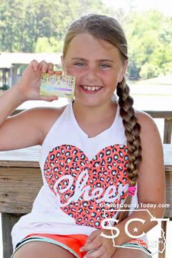Allie Jones - Overall Winner Heaviest String by Weight.