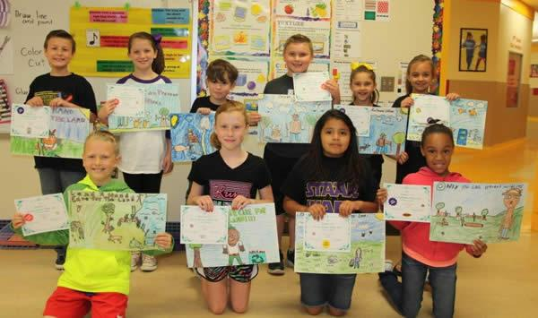 Pictured (not in order) Wade Collard, Hollie Herndon, Jack Wagner, Nathan Cole, Avery Lawrence, Hope Nehring, Holden Stone, Anna Hagler, Gisel Olalde, and Triniti Bell.