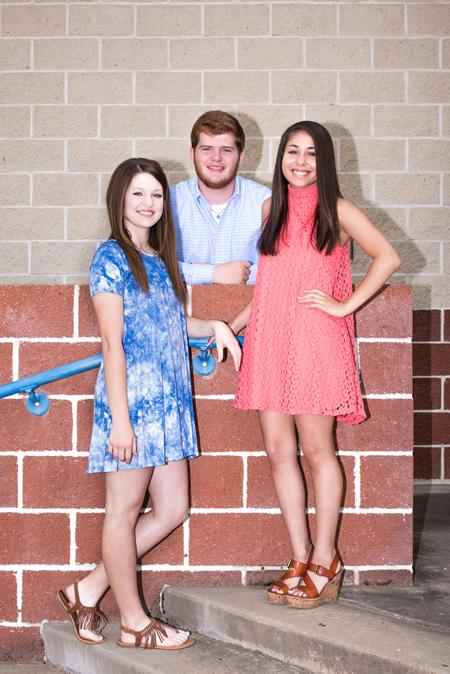 Alexis Byrd, Colby Hamilton & Alexis Penning