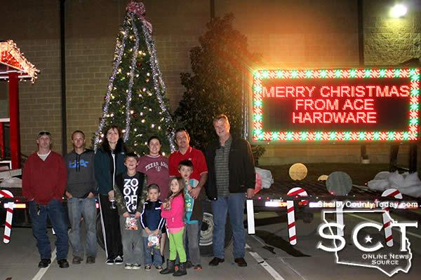 december 8 2016 album the city of center parade float and ace hardware parade float were at the john d windham civic center on wednesday