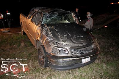 FM 139 Scene of Single-Vehicle Fatal Crash | Shelby County Today