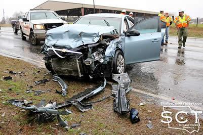 Hemphill woman injured in Center wreck   News   dailynewsandmore com