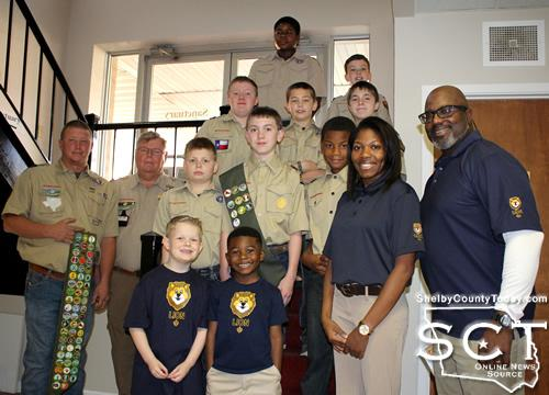 Boy Scouts, Cub Scouts attend Scout Sunday at First UMC