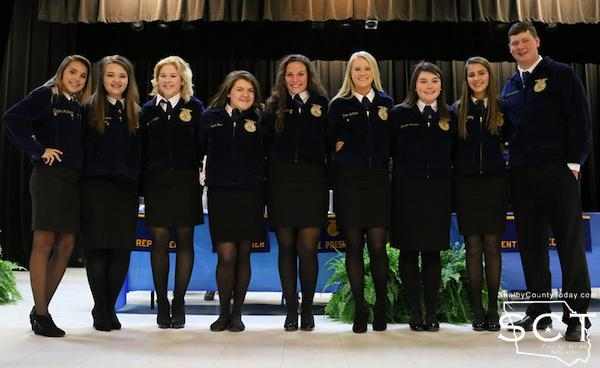 New Center FFA Officers
