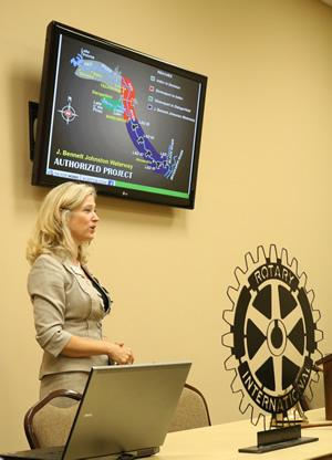 Kathy French, Director of Community Relations of The Port of Caddo-Bossier