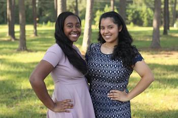 Chaparrals - Lanecia Thomas and Nadia Suaste