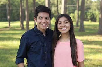 Spanish Club - Jonathan Bustos and Jessica Alvarado