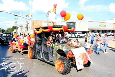 First Place in the Doo Dah Parade went to Windham Family Dental of Shelby County