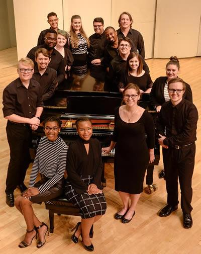 SFA' Madrigal Singers will perform at 7:30 p.m. Thursday, Nov. 2, in Cole Concert Hall on the SFA campus.