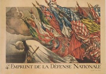 """The Patriotic Art of World War I in France"" will be exhibited Oct. 31 through Dec. 30 in The Cole Art Center @ The Old Opera House."