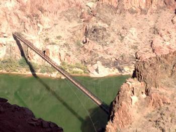 Colorado River on the way down