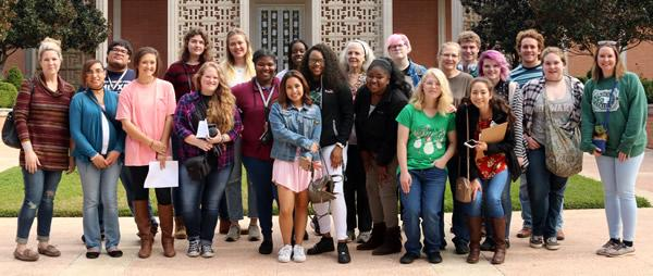 Panola College students and faculty visited the R.L. Norton Art Gallery in Shreveport, La., on Wednesday, Nov. 15.