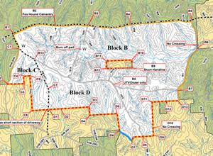 Please see the attached map of the projected burn areas.