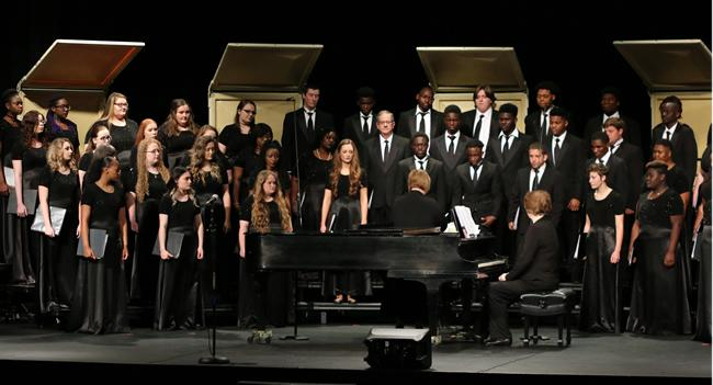 The Panola College Choir performed in concert on April 10.