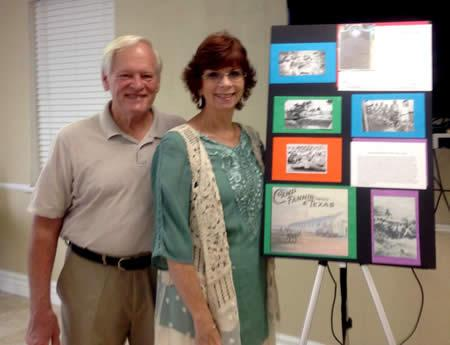 Pictured are (from left) Bob Lacher and Terri Lacher.