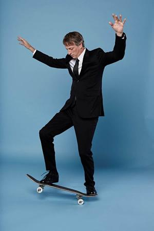 Tony Hawk, professional skateboarder and successful business owner, will serve as the guest speaker in the second installment of Stephen F. Austin State University's Rusche College of Business Nelson Rusche Distinguished Lecture Series scheduled for 7:30 p.m. April 29 in the Baker Pattillo Student Center Grand Ballroom on the university's campus.