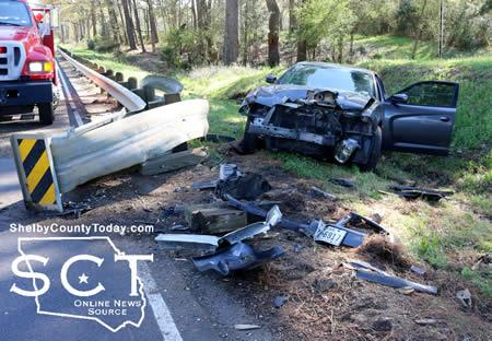 U S  96 Scene of Single-Vehicle Crash (Updated) | Shelby County Today