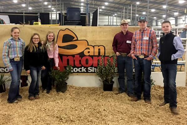 San Antonio Livestock Judging Teams