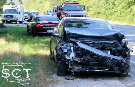 Three-Vehicle Crash at SH7, CR 1145 (Updated) | Shelby County Today