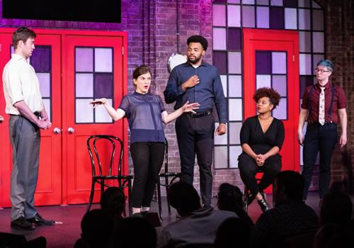 The improv-comedy of The Second City opens the 2019-20 University Series for the College of Fine Arts at Stephen F. Austin State University. The show is at 7:30 p.m. Friday, Sept. 6, in W.M. Turner Auditorium on the SFA campus.