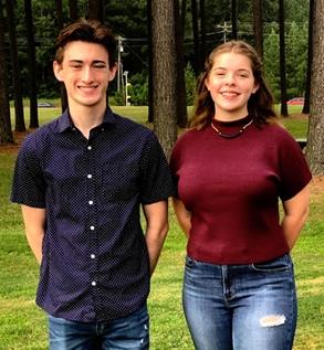 Josh Clark and Ella Shires