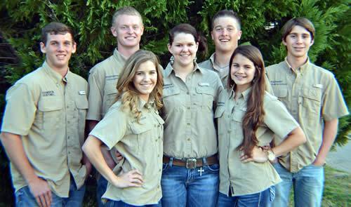Center FFA Officers