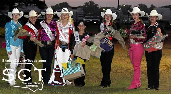 From left: Scarlett Addington, Cheyanne Barrett, Emily Andrus, Harli Joe Cowdin, Gracie Leach, Morgan Leann Patton, Amanda Chmielewski, and Sherry Sells