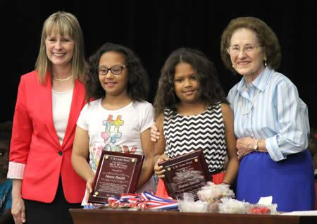 From left: Serica Wilkins, Neera Smith, Neena Smith, and Dorothy Carter
