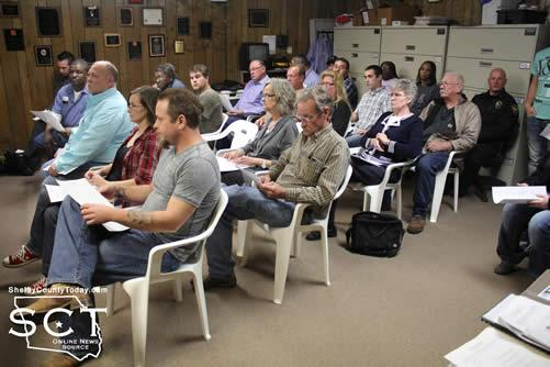 Timpson citizens continue to attend meetings in support of keeping the 5-man police department.