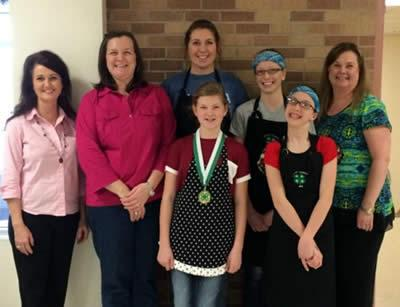 Shelby County 4-H Food Members and Project Leaders