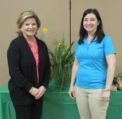 New Members: (L to R) Cindy Brown and Anna Stuever