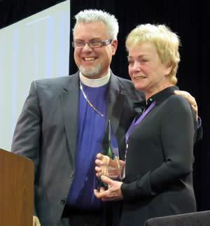 Bishop C. Andrew Doyle and Jean Diebolt