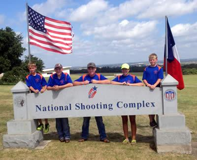 Pictured left to right: (Lance Holloway, Colton Gutermuth, Logan Holloway, Konner Windham, and Seth Shamblin)