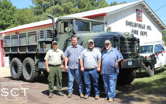 From left: Del Birdwell (TFS), Chris Koltonski, Luke Matthews, and Poss Cagle