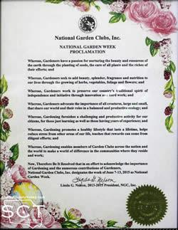 Click image to view the proclamation.