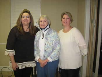 (from left): Sherry Harding, Linda Anderson, and Brandi Emanis